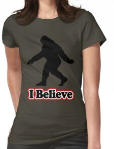 Sasquatch Big Foot T-Shirt Womens Fitted T-Shirt