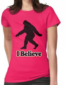 Sasquatch Big Foot T-Shirt Womens Fitted T-Shirt