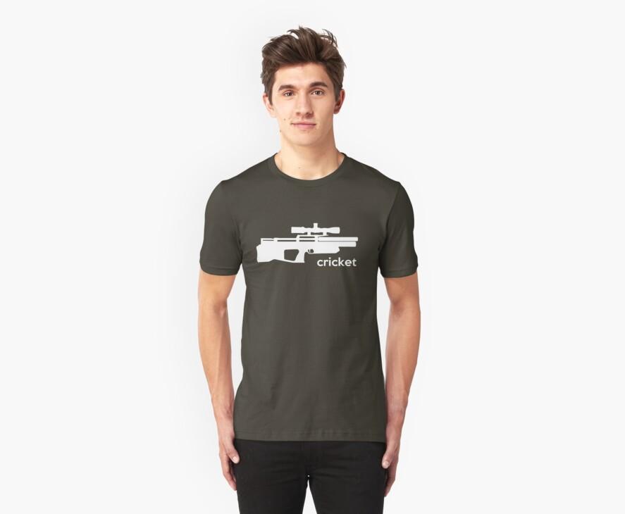 Kalibrgun Cricket Airgun T-shirt by AirGunGuy