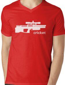 Kalibrgun Cricket Airgun T-shirt Mens V-Neck T-Shirt