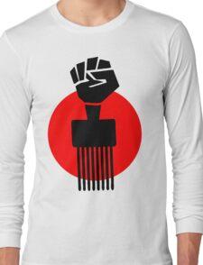 Black Fist Power T-Shirt Long Sleeve T-Shirt