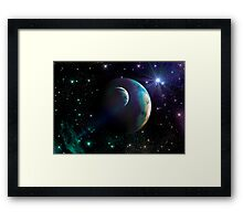 Fantasy Sky Framed Print
