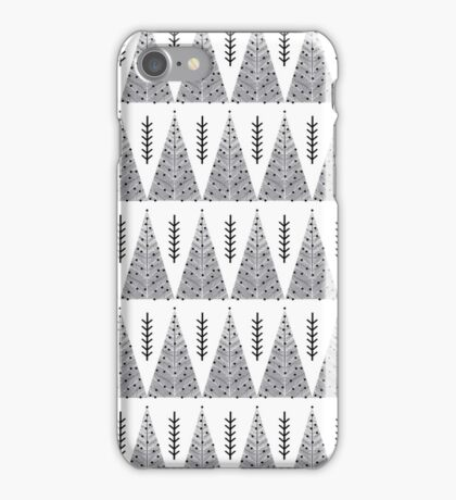 Winter Trees - White and Grey by Andrea Lauren  iPhone Case/Skin