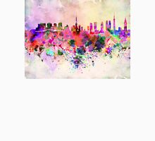 Tokyo skyline in watercolor background T-Shirt