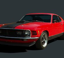 1970 Ford Mustang Mach I by TeeMack