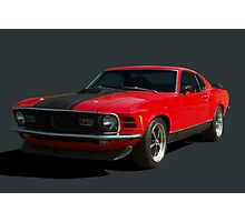 1970 Ford Mustang Mach I Photographic Print