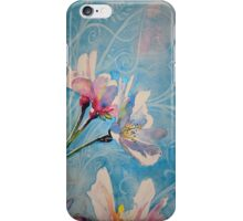 """Spring Air"" Cherry Blossom Watercolor Painting by Christie Marie Elder-Ussher iPhone Case/Skin"