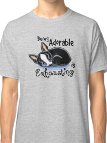 Boston Terrier Being Adorable Classic T-Shirt