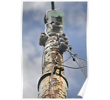 Weathered electrics Poster