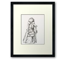 Corn Doll  Framed Print