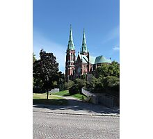 Gothic cathedral Photographic Print