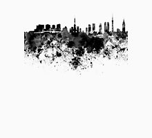 Tokyo skyline in black watercolor Unisex T-Shirt
