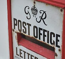 Vintage Post Office letterbox by wittieb