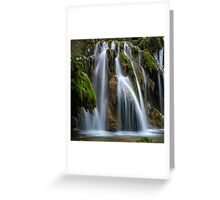 The Tufs waterfall Greeting Card