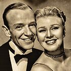 Fred Astaire and Ginger Rogers by © Kira Bodensted