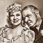 My Little Chickadee -  Mae West and W.C. Fields by © Kira Bodensted