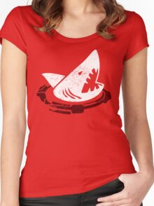 Red Sharks Women's Fitted Scoop T-Shirt