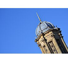 The top of the church in Saltaire Photographic Print