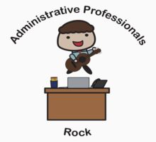 Administrative Professionals Rock (Male) Kids Tee