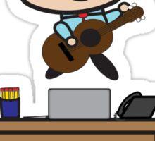 Administrative Professionals Rock (Male) Sticker