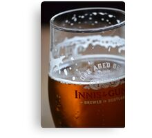 Innis and Gunn beer, Scotland Canvas Print