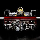 1974 Lola T332  F5000 Race Car by Frank Kletschkus