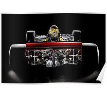 1974 Lola T332  F5000 Race Car Poster