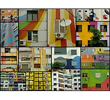 Tirana Collage Photographic Print
