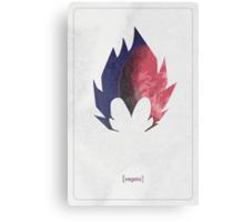 Vegeta minimalist Canvas Print