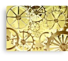 Clockwork steampunk Canvas Print