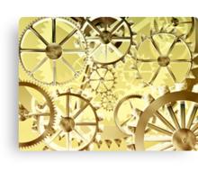 Clockwork steampunk Canvas Print