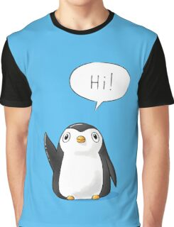 Hi Penguin Graphic T-Shirt