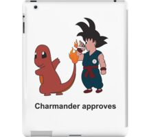 Charmander Approves iPad Case/Skin