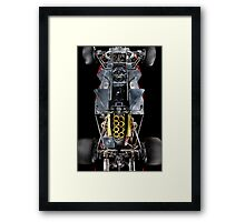 1974 Lola T332  F5000 Race Car Chassis Framed Print