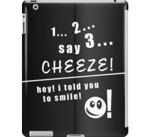 Taking your photo! iPad Case/Skin
