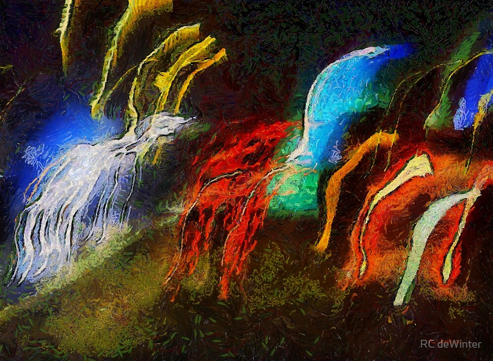 The Dragons of Desire by RC deWinter