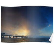 Severn Crossing 05 - Severn Beach Poster