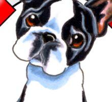 Boston Terrier :: First Mate Sticker