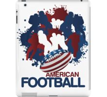 Patriotic American Football iPad Case / iPhone 5 Cases / T-Shirt / Samsung Galaxy Cases  iPad Case/Skin