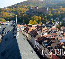 Heidelberg Castle in Autumn by Tricia Mitchell
