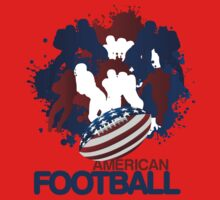 Patriotic American Football iPad Case / iPhone 5 Cases / T-Shirt / Samsung Galaxy Cases  Kids Clothes