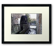 The Old Snuff Mill. Framed Print