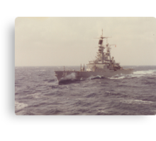 USS TEXAS (CGN 39) Canvas Print