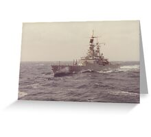 USS TEXAS (CGN 39) Greeting Card