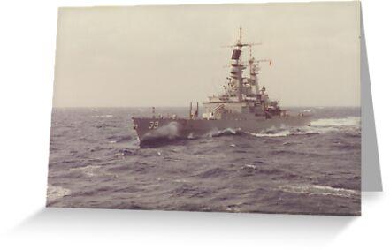 USS TEXAS (CGN 39) by Jamie Baldwin