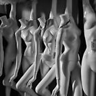 Mannequins, when they're at home #3 by Bruce Walker