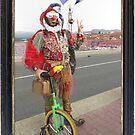 Jester & Unicycle  by jollykangaroo