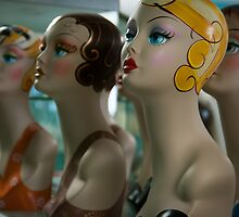 Mannequins, when they're at home #6 by Bruce Walker