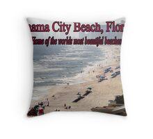 Panama City Beach, Florida Throw Pillow