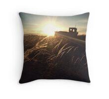 Sundown Dungeness Throw Pillow